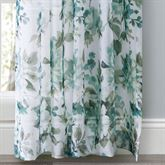 Summerhill Sheer Floral Curtain Panel