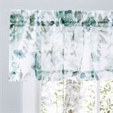 Summerhill Sheer Floral Valance 54 x 13