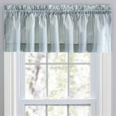Dupont Striped Tailored Valance 58 x 15