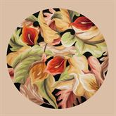 Floral Delight Round Rug 56 Round
