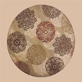 Legacy Round Rug Multi Earth 77 Round