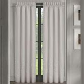 Cherry Blossom Tailored Curtain Pair Gray 82 x 84
