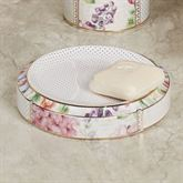 Flora Bella Soap Dish Ivory