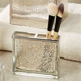 Vizcaya Brush Holder Champagne Gold