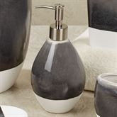 Grigio Lotion Soap Dispenser Black