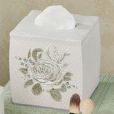Estelle Tissue Cover Ivory