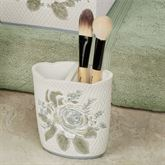 Estelle Brush Holder Ivory