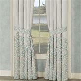 Avalon Wide Curtain Pair Oyster 100 x 84