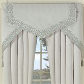 Avalon Cornice Valance Set Oyster Three Piece Set