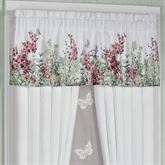 Bloomfield Tailored Valance Claret 60 x 18