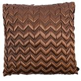 Victorian Beauty Tailored Pillow Chocolate 18 Square
