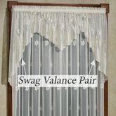 Marisol Semi Sheer Swag Valance Pair 72 x 38