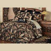 Barbados Grande Bedspread Black