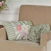 Veranda Pieced Piped Pillow Linen Rectangle