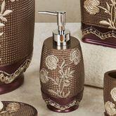 Ombre Rose II Lotion Soap Dispenser Purple