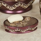 Ombre Rose II Soap Dish Purple