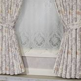 Romantica Wide Tailored Curtain Pair Wisteria