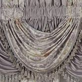 Romantica Floral Waterfall Valance Wisteria 43 x 33