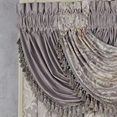 Romantica Solid Waterfall Valance Wisteria 43 x 33