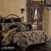 Toscano Comforter Set Black