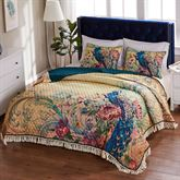 Eden Peacock Mini Quilt Set Multi Jewel