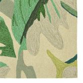 Capri Palm Leaf Rug Runner 2 x 8