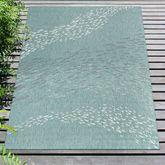 School of Fish Rectangle Rug