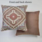 Valley Vista Tailored Pillow Multi Warm 18 Square