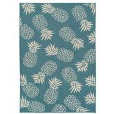 Nani Pineapple Rectangle Rug
