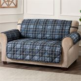 Burnett Plaid Furniture Protector Loveseat