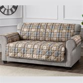 Burnett Plaid Furniture Protector Sofa