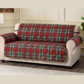 Burnett Plaid Furniture Protector Extra Long Sofa