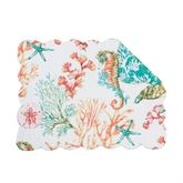 Chandler Cove Rectangle Placemats Multi Bright Set of Four
