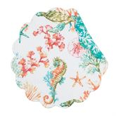 Chandler Cove Round Placemats Multi Bright Set of Four