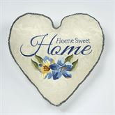 Marquette Embroidered Home Pillow Buttercream Heart