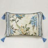 Marquette Tasseled Pillow Buttercream Rectangle