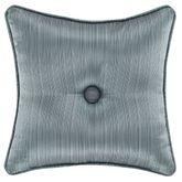 Nicolette Reversible Tufted Pillow Blue 16 Square