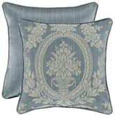 Nicolette Reversible Floral Pillow Blue 18 Square