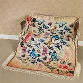 Gigi Throw Blanket Multi Warm 50 x 60