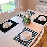 Buffalo Check Placemats Set of Four