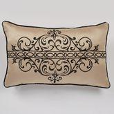 Kensington Piped Rectangle Pillow Antique Gold