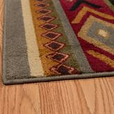 Rocky Point Rug Runner Multi Earth 110 x 72
