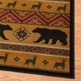 Scout Rug Runner Multi Earth 110 x 72