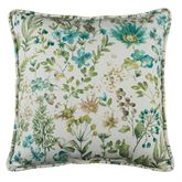 Serenity Botanical Piped Pillow Multi Cool 17 Square