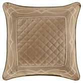 Decade Quilted Pillow Gold 20 Square