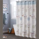 Peaceful Retreat Shower Curtain Natural 70 x 72