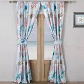 Sarasota Tailored Curtain Pair Multi Bright 84 x 84