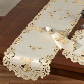 Angelica Table Runner Ivory 14 x 72