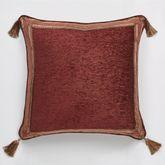 Ravenna European Pillow with Tasseled Sham Multi Warm