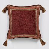 Ravenna Tasseled Pillow Multi Warm 18 Square